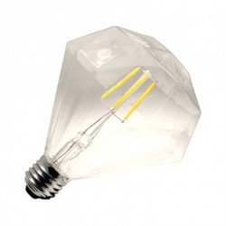 Ampoule LED E27 Dimmable Filament Diamond 3.5W