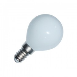 Ampoule LED E14 Sphérique Glass 4W