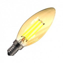 Ampoule LED E14 Dimmable Filament Classic Gold 3W
