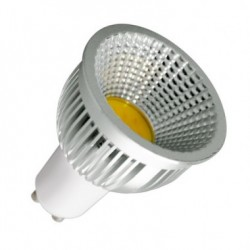 Ampoule LED GU10 Reglable COB 90º 5W