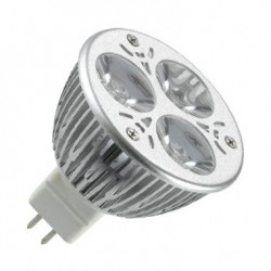 Ampoule LED GU5.3 MR16 220V AC 60º 3W