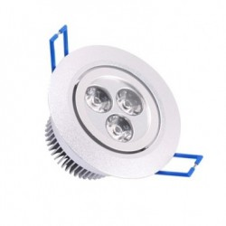 Spot LED Downlight Rond Orientable 3x1W