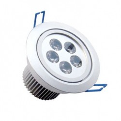 Spot LED Downlight Rond Orientable 5x1W
