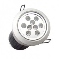 Spot LED Downlight Rond Orientable 9x1W