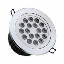 Spot LED Downlight Rond Directionnel 18x1W