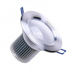 Spot LED Downlight Rond Translucide 9x1W