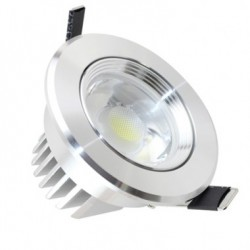 Spot LED Downlight Directionnel COB 7W