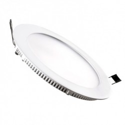 Dalle LED Ronde Extra Plate Encastrable 20W