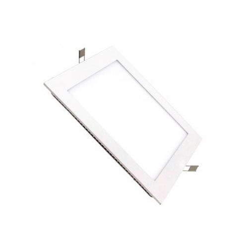 Dalle LED Carrée Extra Plate Encastrable 6W
