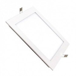 Dalle LED Carrée Extra Plate Encastrable 15W