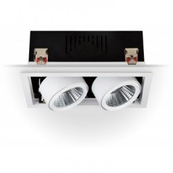 Projecteur GRILL LED Dirigeable COB 60W