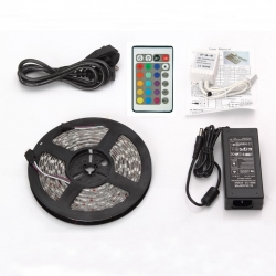 Kit Ruban LED RGB couleur 5m 30LED/m 36W