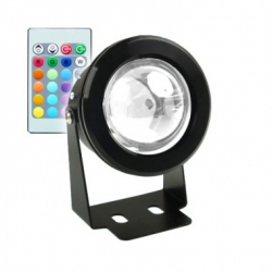 Spot LED de Sol IP68 RGB 7W