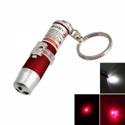 Mini pointeur lazer lampe led porte clé