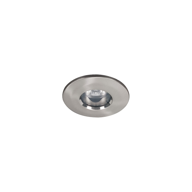 Pack de 10 supports ip65 blanc chrome satin pour salle for Lampe salle de bain ip65