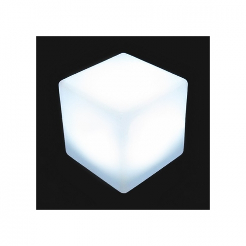 Cube LED RGBW 40cm Rechargeable