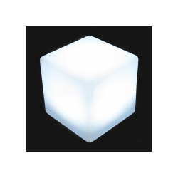 Cube LED RGBW 50cm Rechargeable