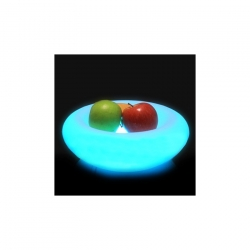 Corbeille à Fruits LED RGBW Rechargeable