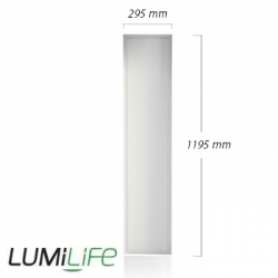 Panneau LED LUMiLife 300x1200 - 40 watts IP40