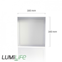 Panneau LED LUMiLife 300x300 - 20 watts IP40
