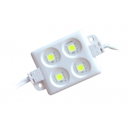 Lot de 20 Modules led étanches carré IP65 12V avec 4 puces led