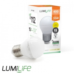 Ampoule E27 5W forme globe - Blanc Froid - Dimmable