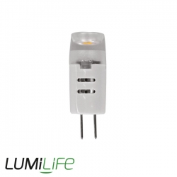 Ampoule LED G4 12V - 1.2 watts - angle de diffusion 120° - remplacement 15 watts
