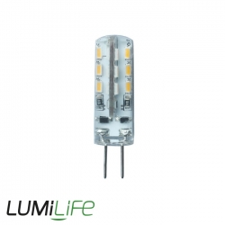 Ampoule LED G4 12V - 1.5 watts - angle de diffusion 240° - remplacement 15 watts