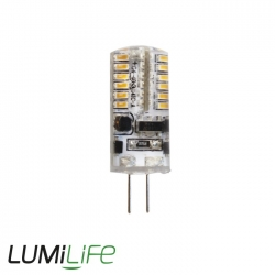 Ampoule LED G4 12V - 2.5 watts - angle de diffusion 360° - remplacement 15 watts