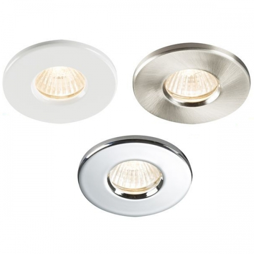 Spot led encastrable ip65 milieu humide 3 coloris for Spot led ip65 salle bain