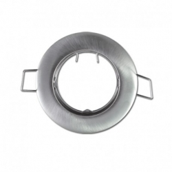 support encastrable Rond Argent Ø77 mm