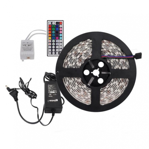 Kit Ruban LED IP65 RGB couleur 5m 60LED/m 72W