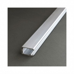 Profile Glass Line Aluminium 1m pour bandeaux LED