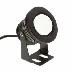 Spot LED Fixation au Sol Noir 7W