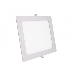 Dalle led carrée encastrable 3w extra plate couleur blanc