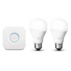 Kit d'Initiation Philips Hue E27 Blanc
