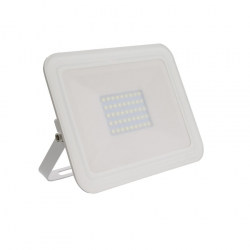 Projecteur LED Extra-Plat Design 30W Blanc