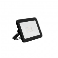 Projecteur LED Extra-Plat Design 10W Noir