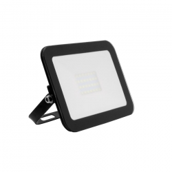 Projecteur LED Extra-Plat Design 20W Noir