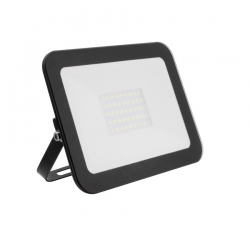 Projecteur LED Extra-Plat Design 30W Noir