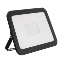Projecteur LED Extra-Plat Design 50W Noir