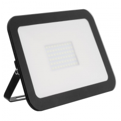 Projecteur LED Extra-Plat Design 100W Noir