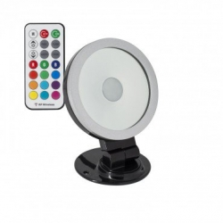 Projecteur LED Orientable 360º RGB 10W Noir