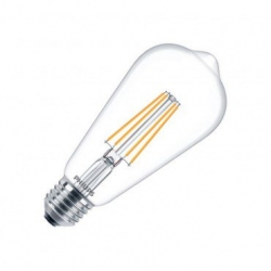 Ampoule LED E27 ST64 Filament Philips CLA 7W