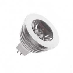 Ampoule LED GU5.3 MR16 220V AC RGB 60º 3W