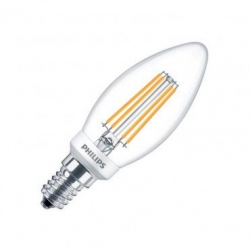 Ampoule LED E14 Dimmable Filament Philips Candle CLA BA35 5W